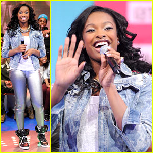 Coco Jones: '106 &#038; Park' Appearance