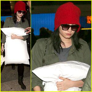 Demi Lovato: LAX Arrival