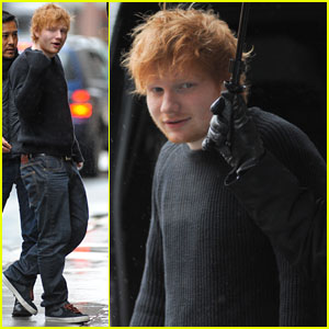 Ed Sheeran: 'Letterman' Performance - Watch Now!