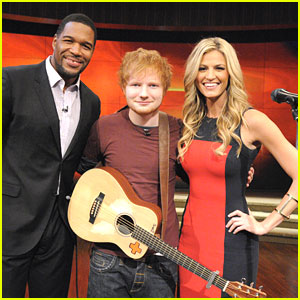 Ed Sheeran: 'Lego House' on 'Live! with Kelly & Michael'