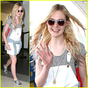 Elle Fanning: Back From South Africa!