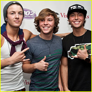 Emblem3: Q102 Performance Pics!