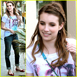 Emma Roberts: Braided Beauty