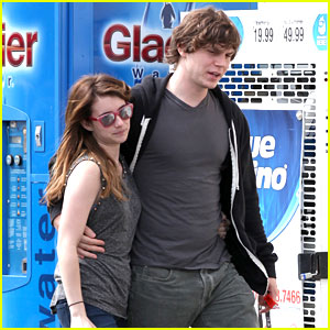 Emma Roberts: CVS Stop with Evan Peters