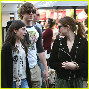 Emma Roberts: Grove Lunch with Sister Grace