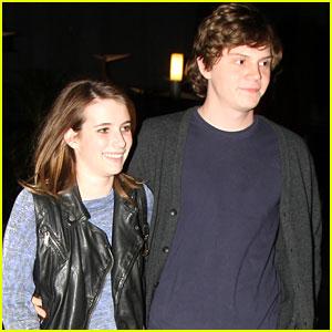 Emma Roberts & Evan Peters: Monday Movie Date!