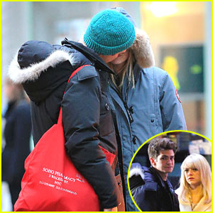 Emma Stone &#038; Andrew Garfield: Kiss Kiss!