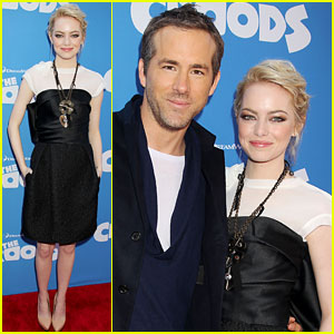 Emma Stone: 'Croods' New York Premiere