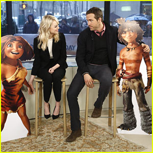 Emma Stone Talks 'The Croods' on 'Today'
