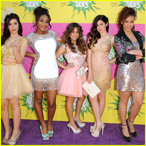 Fifth Harmony - Kids' Choice Awards 2013 Red Carpet