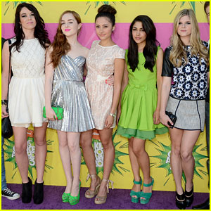 House of Anubis' Cast - Kids Choice Awards 2013 Red Carpet