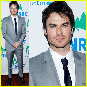 ian somerhalder nrdc game changer awards Ian al Natural Resources Defense Council 2013