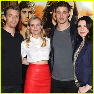 Jake Abel & Max Irons: 'The Host' Signing at the Grove!