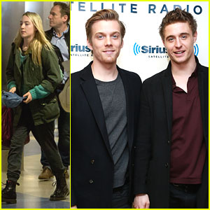 Jake Abel &#038; Max Irons Get 'Sirius'; Saoirse Ronan Lands in Los Angeles
