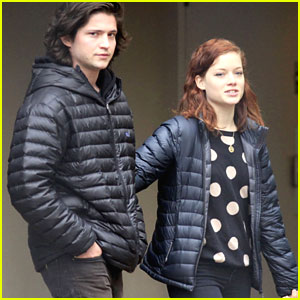 Thomas McDonell & Jane Levy: Vancouver Couple