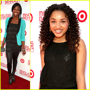 Coco Jones & Jaylen Barron: Mindless Behavior 'All Around The World' Premiere