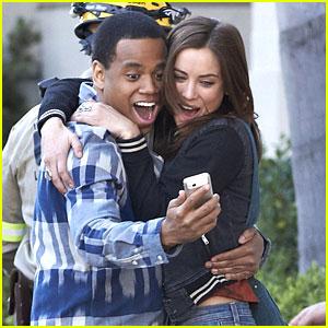 Jessica Stroup & Tristan Wilds Film '90210' After Cancellation News