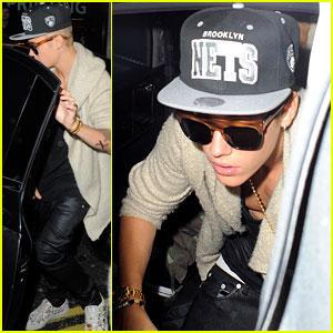 Justin Bieber: BLC Birthday Night Out!