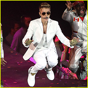Justin Bieber: 'Believe' O2 Arena Performance Pictures!