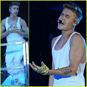 Justin Bieber: Poland Concert Pics!