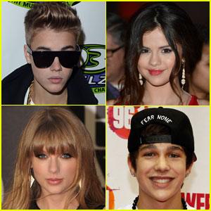 Justin Bieber & Selena Gomez: Radio Disney Music Award Nominees!