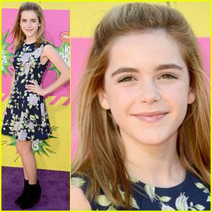 Kiernan Shipka - Kids� Choice Awards 2013 Red Carpet