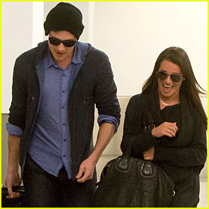 Lea Michele &#038; Cory Monteith: Back from Vancouver!