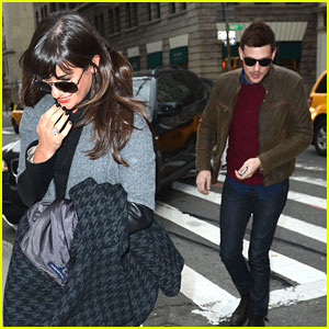 Lea Michele & Cory Monteith: Cookshop Couple