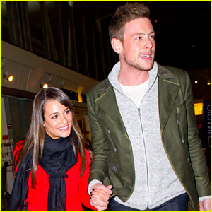 Lea Michele & Cory Monteith: NYC Arrival!