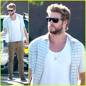 Liam Hemsworth: Home Depot Stop