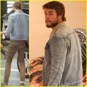 Liam Hemsworth: LA Errands Run!