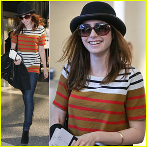 Lily Collins: LAX Cutie!