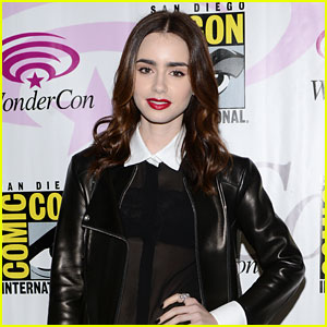 Lily Collins: 'Mortal Instruments' at WonderCon