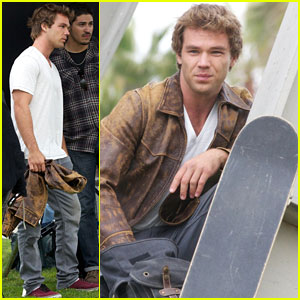 Lincoln Lewis: 'Westside' Filming in Venice Beach!