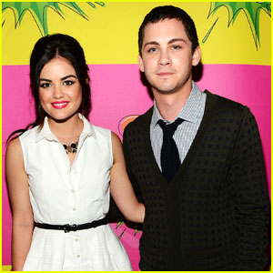 Logan Lerman - Kids Choice Awards 2013 Red Carpet