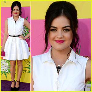 Lucy Hale - Kids' Choice Awards 2013 Red Carpet