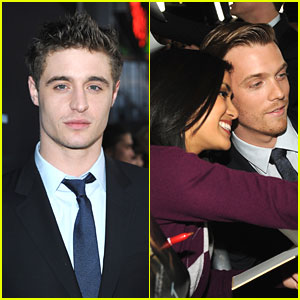 Jake Abel & Max Irons: 'The Host' Premiere