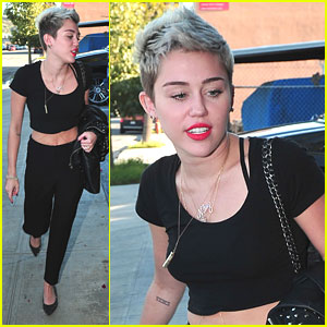Miley Cyrus: Studio Session
