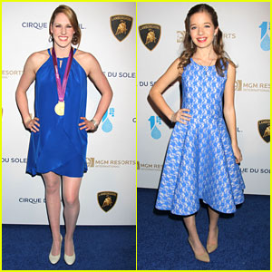Missy Franklin & Jackie Evancho: One Drop Gala Girls