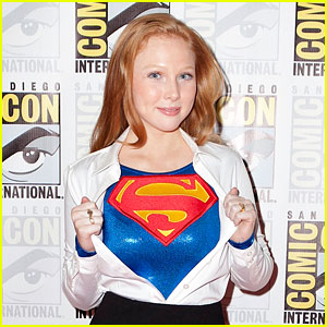 Molly Quinn: 'Superman: Unbound' at WonderCon