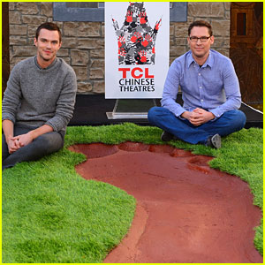 Nicholas Hoult: 'Giant' Footprint Ceremony