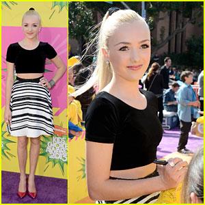 Peyton List - Kids� Choice Awards 2013 Red Carpet