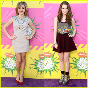 Sammi Hanratty & Oana Gregory - Kids' Choice Awards 2013 Red Carpet