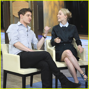 Saoirse Ronan & Max Irons: 'Good Morning, America'