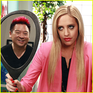 Carly Chaikin Gives Rex Lee a Makeover on 'Suburgatory'