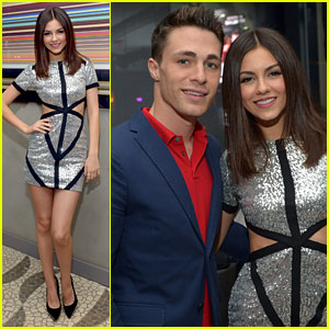 Victoria Justice: 20th Birthday Party With Colton Haynes!