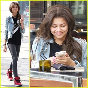 Zendaya: Wolfgang Puck Lunch