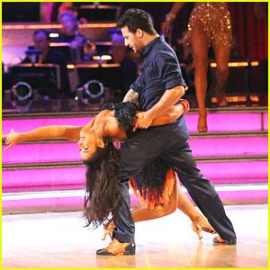 Aly Raisman & Mark Ballas: Cha Cha Dance Off; Still Safe on DWTS!