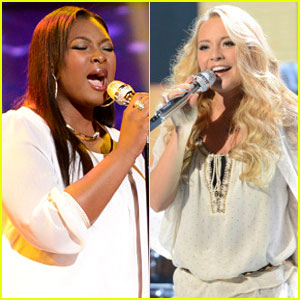 American Idol Top 5: Candice Glover & Janelle Authur Perform - Watch Now!