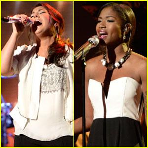 American Idol Top 5: Kree Harrison & Amber Holcomb Perform - Watch Now!